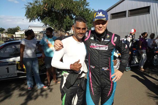 52e Tour Auto de la Réunion Samuel Bellon a droite son copilote a gauche 250721
