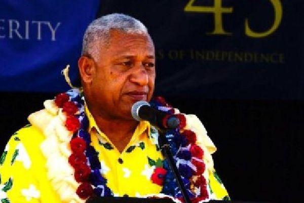 Le Premier ministre fidjien, Frank Bainimarama