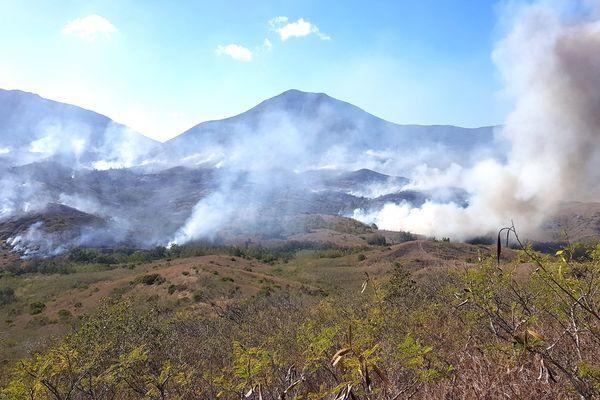 Incendie de Koumac, janvier 2019