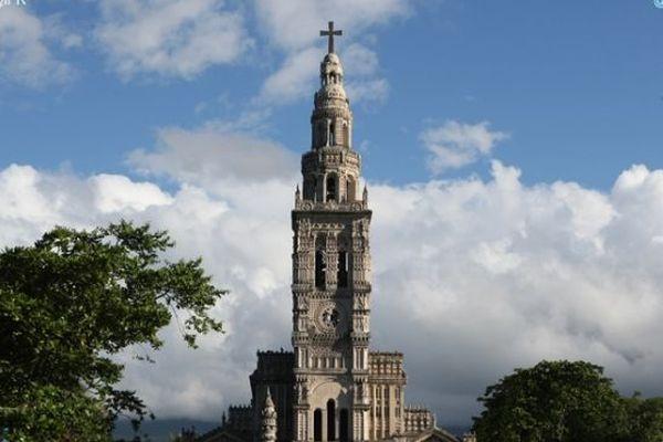 L'église de Sainte-Anne à La Réunion.