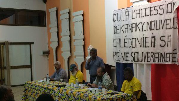 Législatives Meeting Louis Mapou Mont Dore
