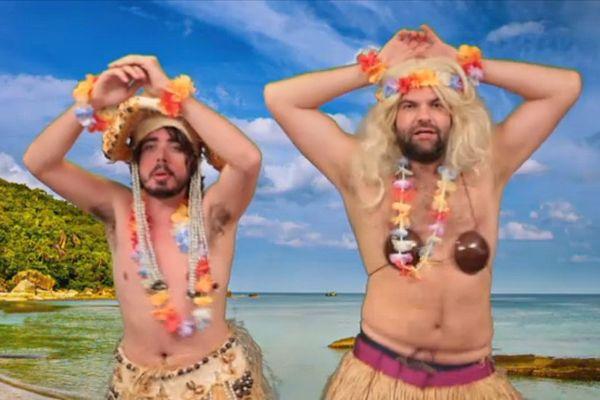 Eric et Quentin tentent une météo tahitienne sur Canal +