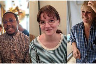 Kilian Huet, Margot Artur, et Aude Detcheverry, rencontrés à Paris