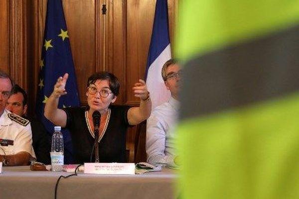 Annick Girardin la Réunion