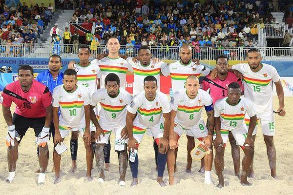 Beach soccer Gwada Boys