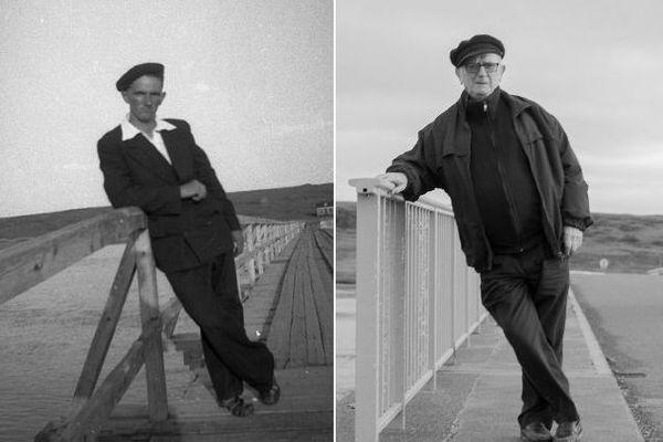 François Detcheverry sur le pont