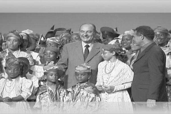Jacques Chirac en Guyane