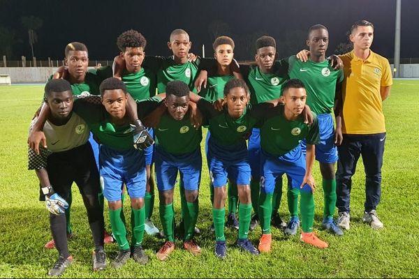 Les U15 de la Guyane tournoi Claude Elise 2019