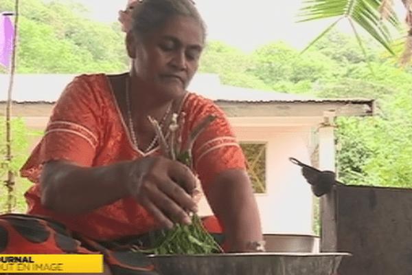 Falavia productrice d'huile à Futuna