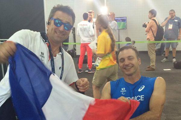 Olivier Deniaud et Pierre Fairbank fête le bronze !