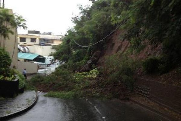innondation pf route