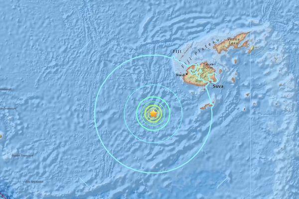 seisme fidji