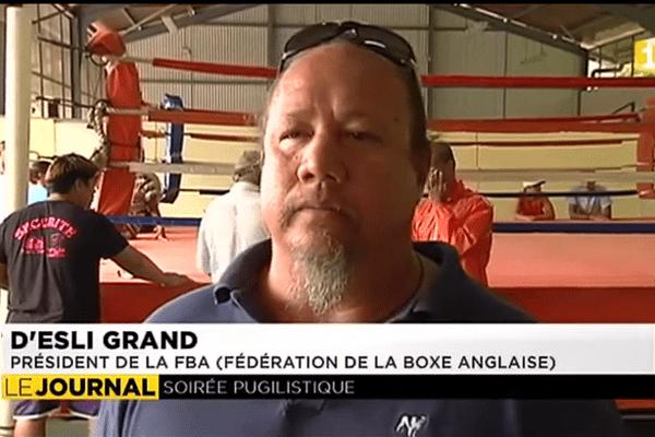 Soirée boxe anglaise à Moorea samedi