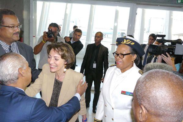 Marisol Touraine en Guadeloupe