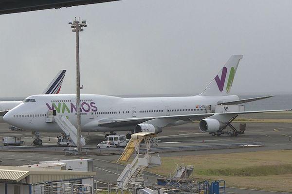 L'appareil WAMOS réquisitionné d'urgence par Air Austral