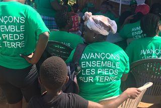 Les soutiens aux agriculteurs expulsés d'Apatou