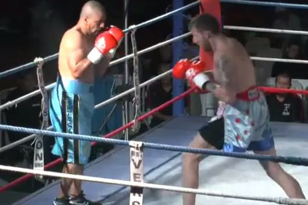 Boxe au Mont Dore Affif Belghecham - Bradley Traynor