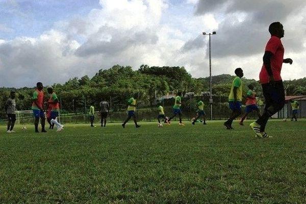 Dernier entrainement des Yana avant le match pour la 3e place