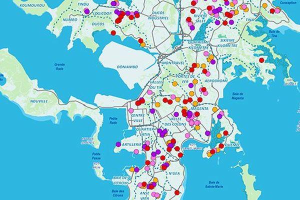dengue cartographie