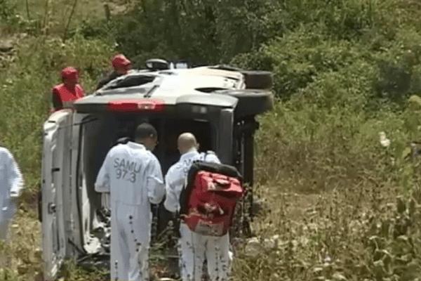 Accident mortel sur la RN2 en Guyane
