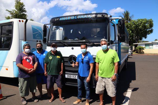 Les trucks reprennent du service sur les routes de Faa'a