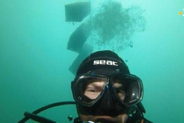 un plongeur de plus pour l'entreprise EDC