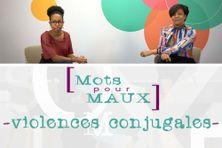Mots pour maux consacré aux violences faites aux femmes avec Kelly Pujar, présentatrice et Chantal Clem, présidente de Figures de femmes Totem