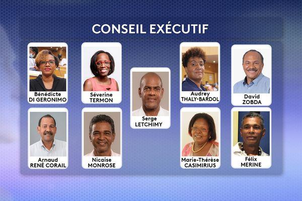 Le Conseil Exécutif de la CTM juillet 2021