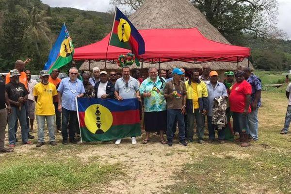 Oscar Temaru et Moetai Brotherson en Nouvelle-Calédonie - Référendum 2018