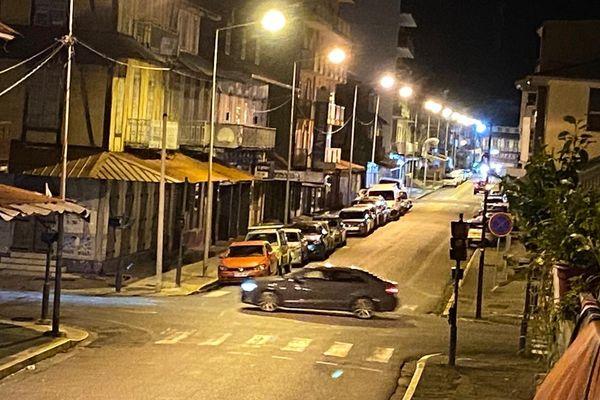 Avenue de Gaulle durant le couvre-feu