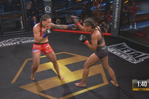 MMA, Flore-Page : le choc océanien, la victoire tahitienne