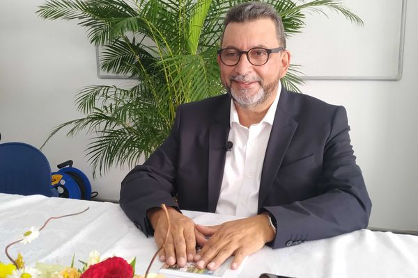 Patrick Lebreton, candidat aux régionales