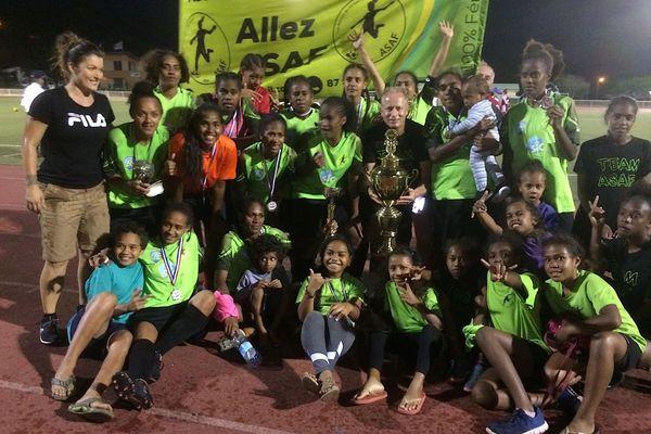 Asaf championne de Calédonie de football, 23 novembre 2019