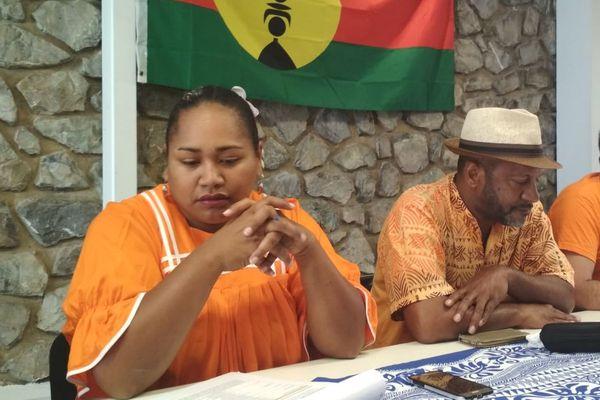 Municipales à Nouméa, liste Unité pays du FLNKS à Nouméa, 4 février 2020; Joseph Boanemoa