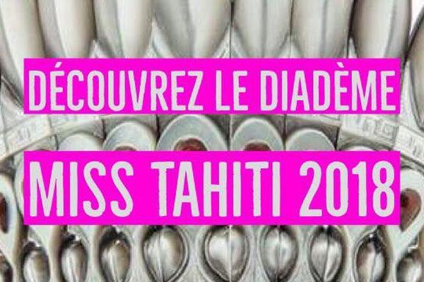 diadème miss tahiti 2018