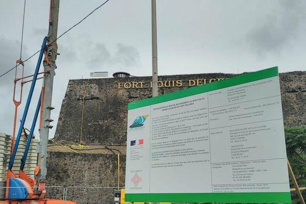 Fort Delgrès en Travaux 1