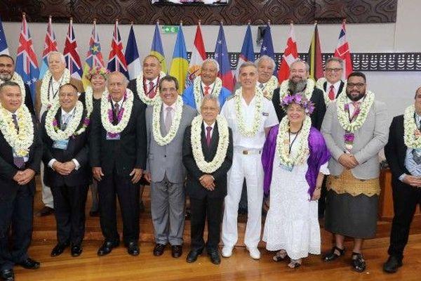 Ouverture de la conférence du groupe des parlementaires des îles du Pacifique