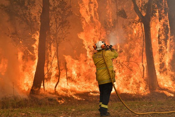 Pompier Australie