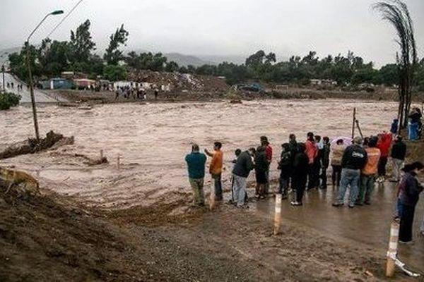 Inondations Chili