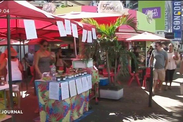 Un marché nature au cœur de Papeete