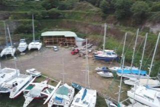 Chantier naval de Hiva Oa