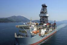 Depuis le 20 décembre 2018, ce navire de forage a commencé ses recherches au large des côtes guyanaises