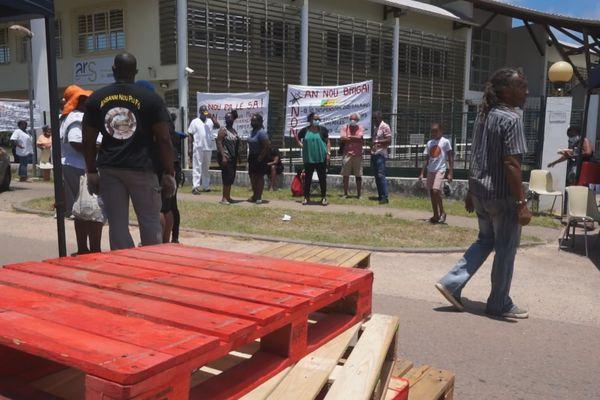 Covid-19 : Timide démarrage pour ce premier jour de grève générale aujourd'hui en Guyane
