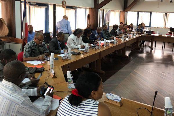 Le conseil Municipal de Kourou en séance délibérative du 5 avril 2018