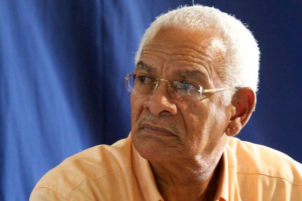 Marcel Maurice, maire du Morne-Vert
