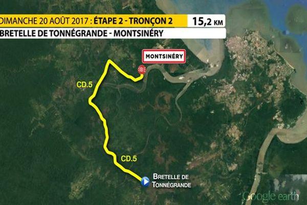 Le parcours du CLMI à Montsinnéry