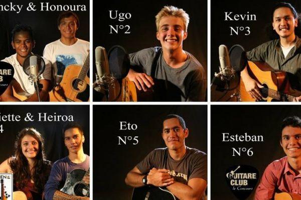 Guitare Club : Votez pour votre candidat préféré