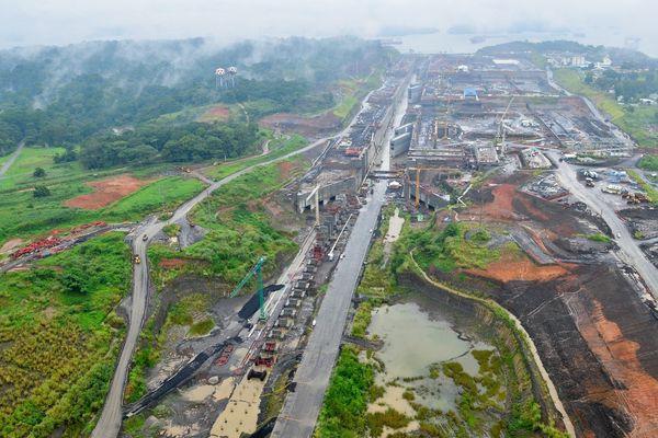 Travaux du canal de Panama