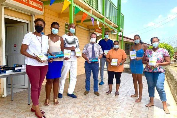 Le maire de Ducos et son conseil municipal contribuent au traitement des malades de la covid-19