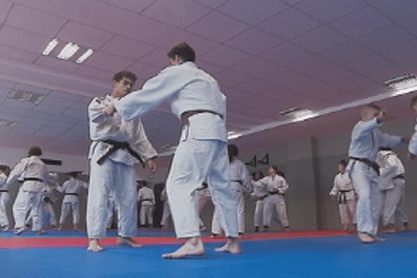 Trois judokas du butokuden-dojo au pôle espoir de Caen